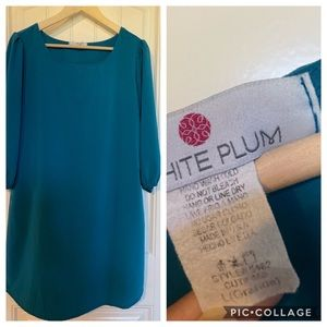 Teal tunic/dress